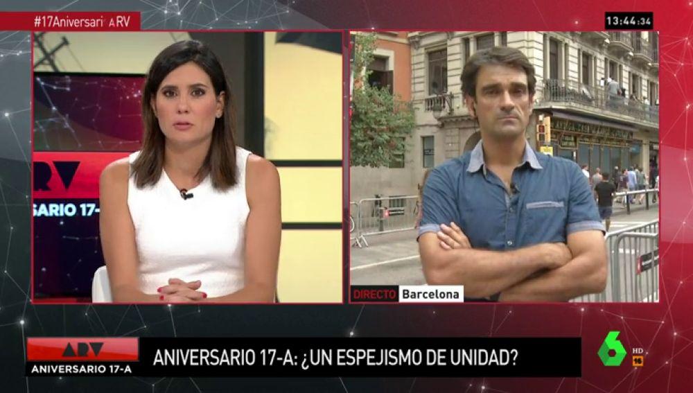 """Habla uno de los testigos del atentado: """"Pido que se deje de hablar de independentismo, hoy toca centrarse en el dolor de las víctimas"""""""