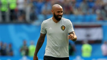 Thierry Henry, con Bélgica