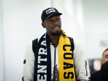 Usain Bolt, jugador del Central Coast Mariners