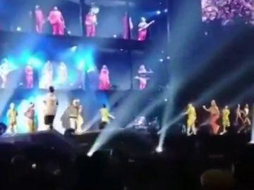 Espontáneo en el concierto de Beyoncé de Atlanta