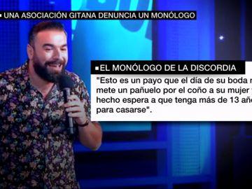 """La Sociedad Gitana Española denuncia que los chistes de Rober Bodegas incitan al odio: """"Nos tilda de analfabetos y traficantes"""""""