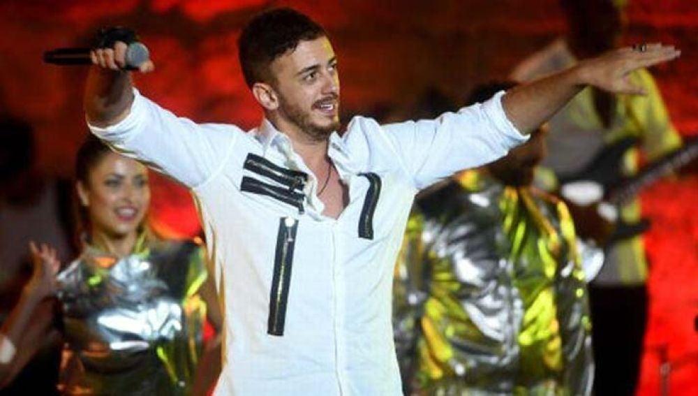 El cantante marroquí Saad Lamjarred