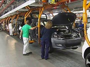 Fábrica del Volkswagen en Navarra