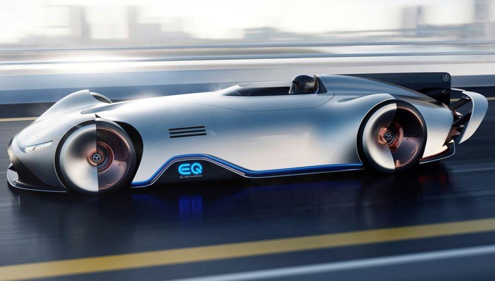 Mercedes-Benz Vision EQ Silver Arrow Concept