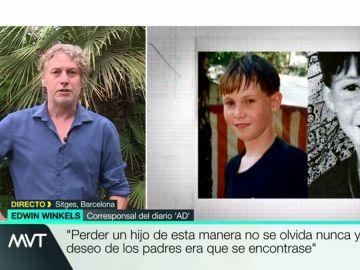 """Edwin Winkels, tras la detención del violador holandés: """"La familia quiere saber qué paso con el niño y por qué el culpable le mató"""""""