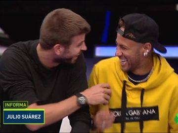 Neymar se rie del Real Madrid