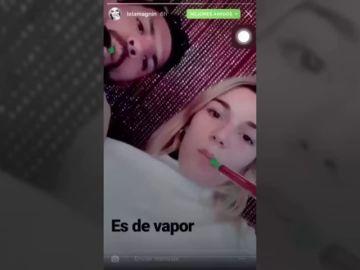 Polémica por un vídeo del 'Kun' Agüero fumando con una modelo de 18 años