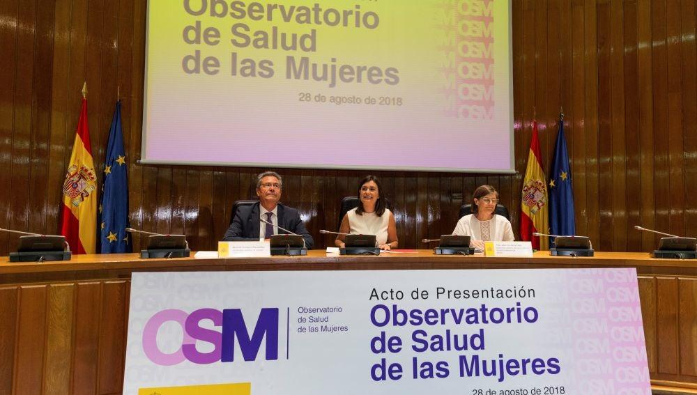 Presentación del Observatorio de Salud de las Mujeres