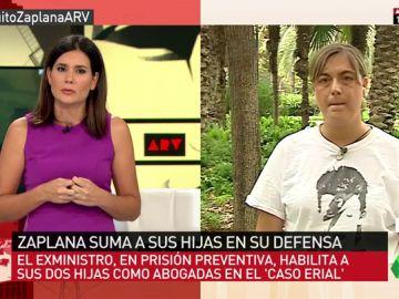 """Loreto Ochando, sobre la decisión de Zaplana: """"Hasta donde yo sé, no son grandes penalistas ninguna de las dos"""""""