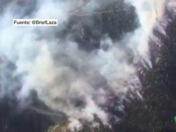 Una tormenta con más de 300 rayos provoca tres incendio en Galicia