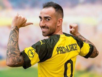 Paco Alcácer, nuevo jugador del Dortmund