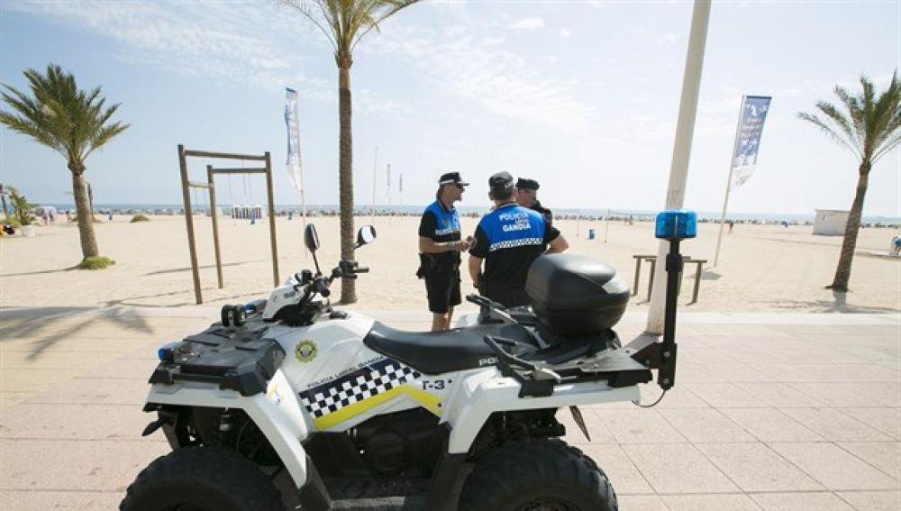 En la imagen la Policía Local de Valencia