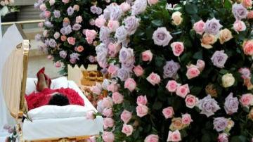 El cuerpo de Aretha Franklin en el Museo de Historia Afroamericana de Detroit
