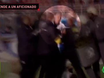 El entrenador del Santos, detenido al agredir a un policía para defender a un aficionado