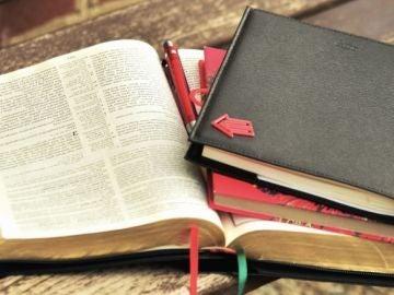 Libros y diario de viaje