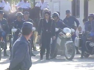 Michael Jackson en España