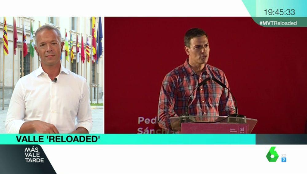 """Ander Gil, sobre el cambio de visión del Valle de los Caídos de Sánchez: """"Este es un Gobierno que cumple con su palabra"""""""