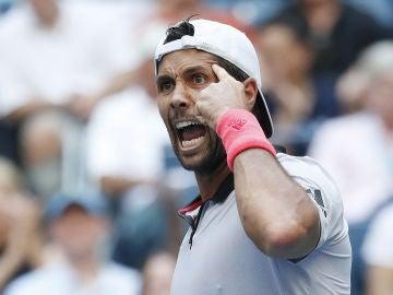 Verdasco celebra la victoria ante Murray
