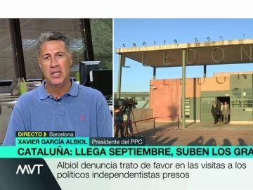 """García Albiol denuncia trato de favor a los políticos independentistas presos: """"Están recibiendo una media de tres visitas cada día"""""""