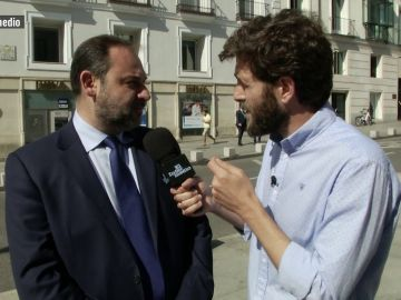 Gonzo habló con el ministro fomento