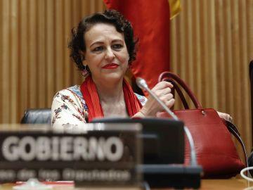 La ministra de Trabajo, Migraciones y Seguridad Social, Magdalena Valerio