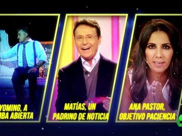 'Matías, un padrino de noticia' es el último finalista del premio Zapeando a 'Mejor comunicador'