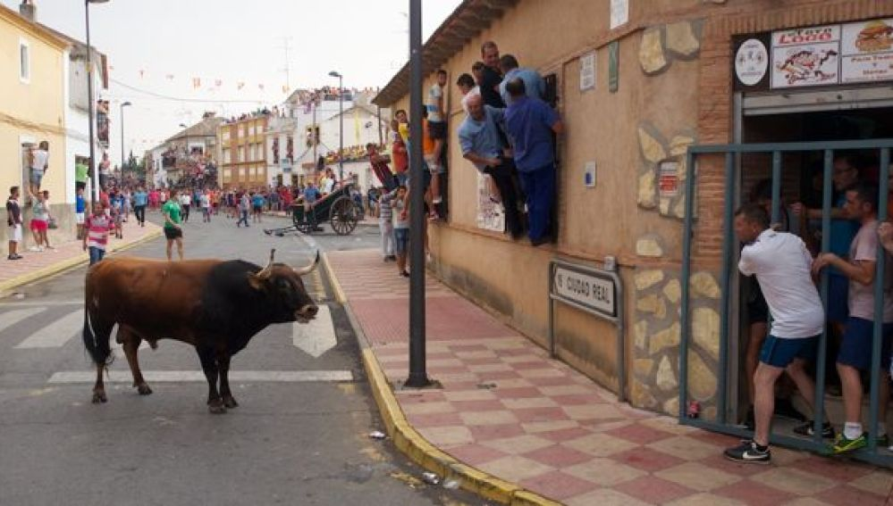 Fernan Caballero celebra este jueves el encierro de toros