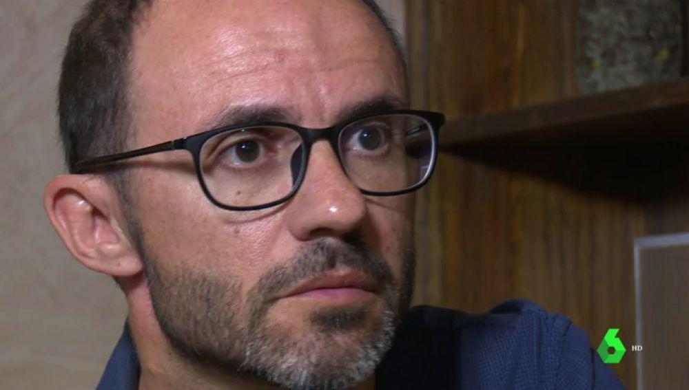 Miguel Ángel el marido de la mujer asesinada en Costa Rica