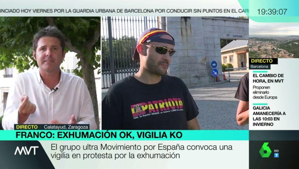 """Jesús Cintora: """"En su vida han soñado los franquistas con un protagonismo como el que tienen a estas alturas"""""""