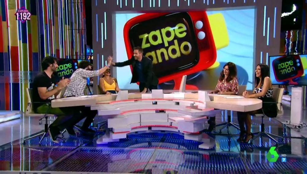 El sorprendente motivo por el que Frank Blanco no pone un diez a su verano provoca las carcajadas de Zapeando