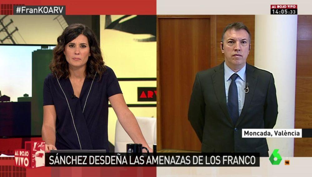 """Joaquim Bosch: """"La familia de Franco no tiene ningún derecho a que el dictador esté en un espacio de Patrimonio Nacional"""""""