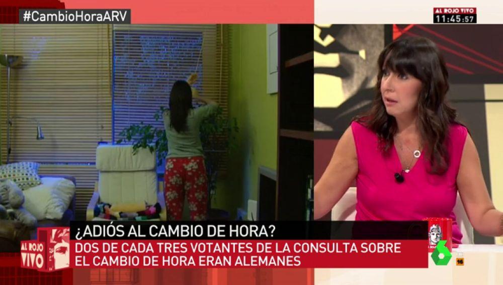 """Beatriz Parera votó a favor de suprimir el cambio de hora: """"Para mí era un sufrimiento adaptar la rutina de mis hijos"""""""