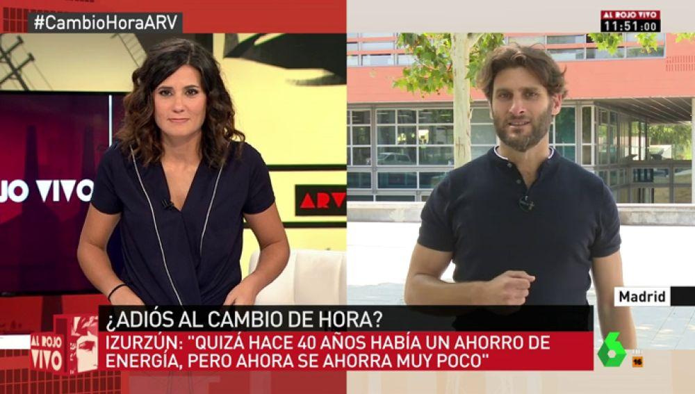 """Rodrigo Izurzún: """"El ahorro es la excusa que han puesto para hacer los cambios de hora, pero no hay estudios que lo demuestren"""""""