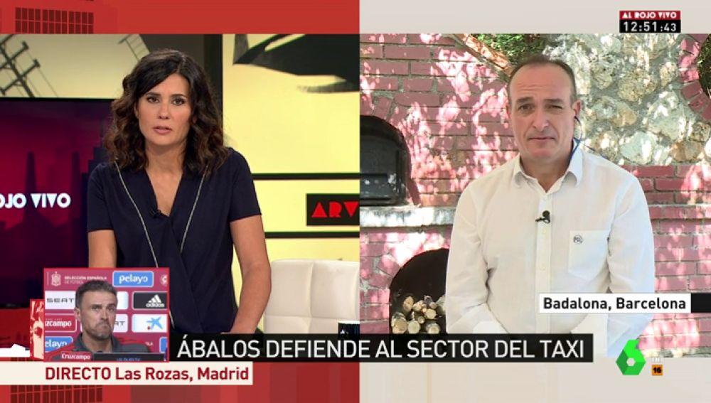 """Miguel Ángel Leal pide a los políticos que colaboren para solucionar el problema del taxi: """"Son 100.000 familias las que están en peligro de extinción"""""""