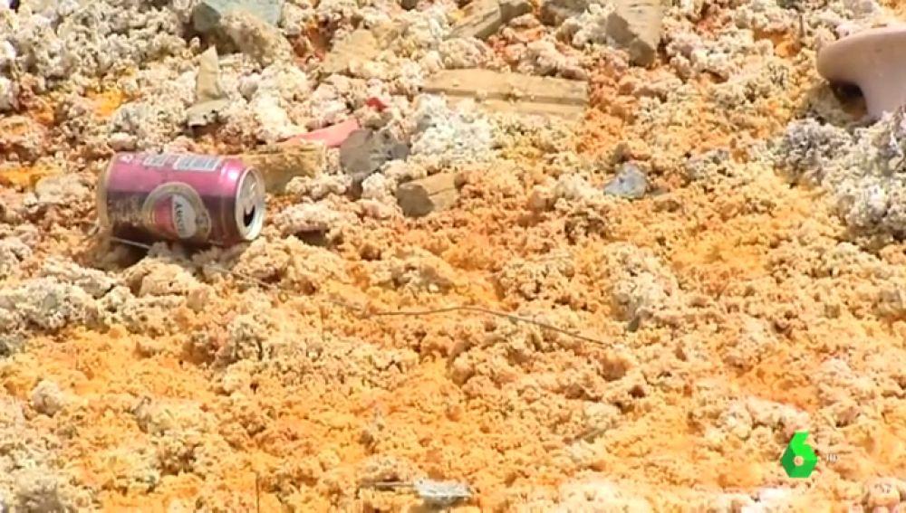 Peligrosos metales pesados afloran en Llano de Beal porque una mina no selló sus residuos químicos