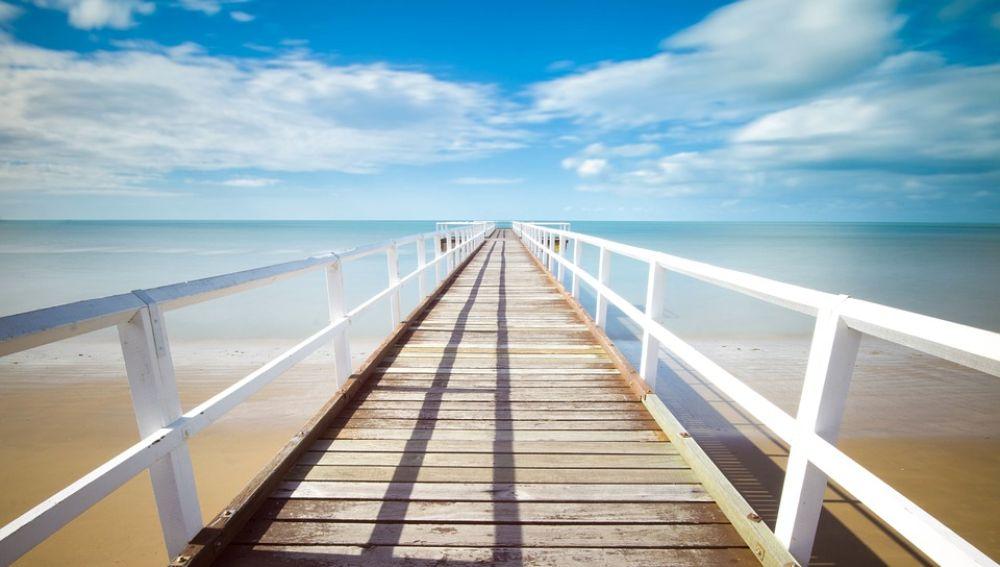 Imagen de archivo de una playa