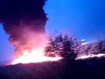 Al menos 18 heridos al incendiarse un avión en el aeropuerto ruso de Sochi