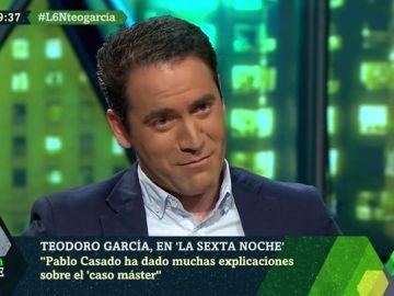 """Teodoro García, sobre el requerimiento de la jueza de ordenador de Casado por su máster: """"No procede hablar de estas cuestiones. Nadie ha dado más explicaciones que él"""""""