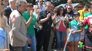 Amatrice celebra 'volver a empezar'