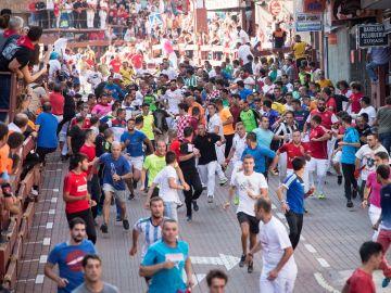 Imagen del quinto encierro de San Sebastián de los Reyes 2018