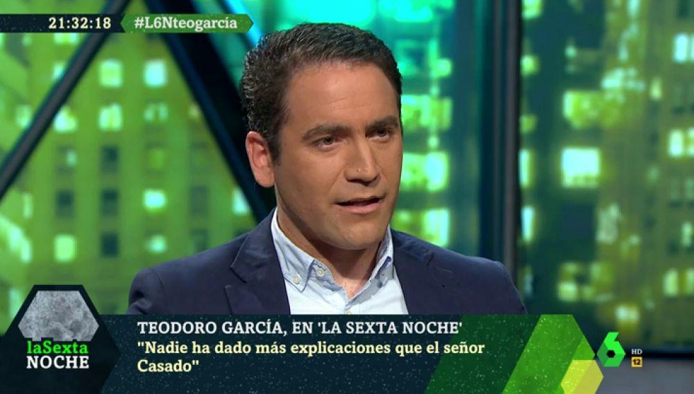Teodoro García en laSexta Noche