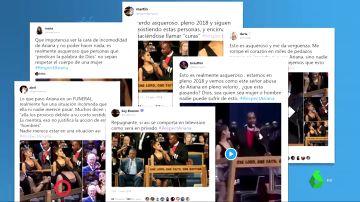 #RespectAriana: las redes sociales estallan indignadas ante el tocamiento de un obispo a Ariana Grande