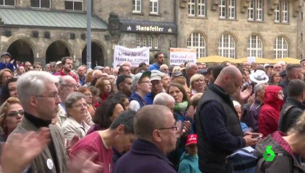 Concentración contra la intolerancia en Alemania