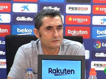 """Valverde, sobre Piqué: """"Los que defendemos al club tenemos vida privada, pero también una imagen pública"""""""