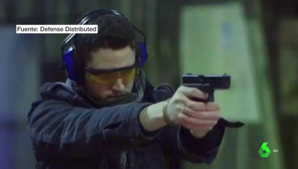 Imagen del creador de armas 3D en EEUU