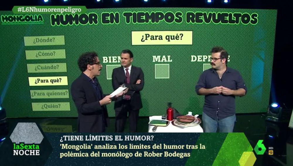 Mongolia analiza los límites del humor tras la polémica del monólogo de Rober Bodegas