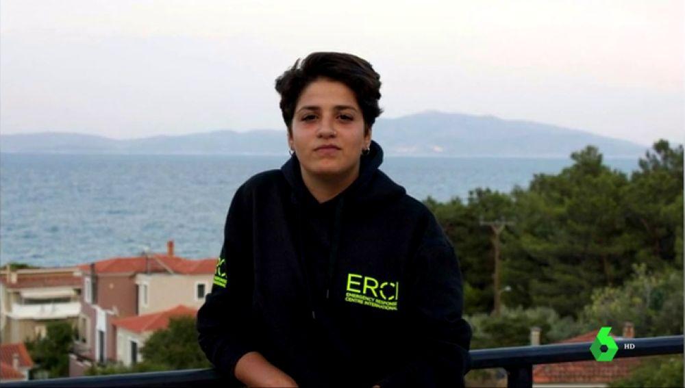 Salvar vidas la puede llevar a prisión: la dura historia de la joven refugiada Sarah Mardini