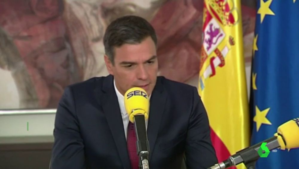 """Pedro Sánchez propone un referéndum en Cataluña: """"Uno por el autogobierno, no por la autodeterminación"""""""