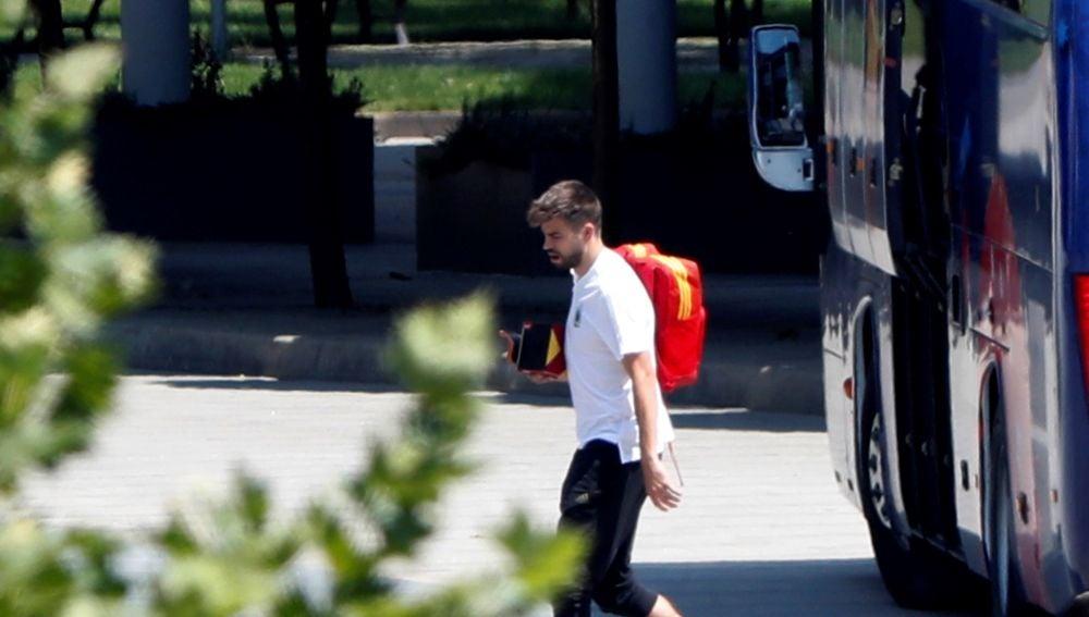 Gerard Piqué, jugador del Barcelona