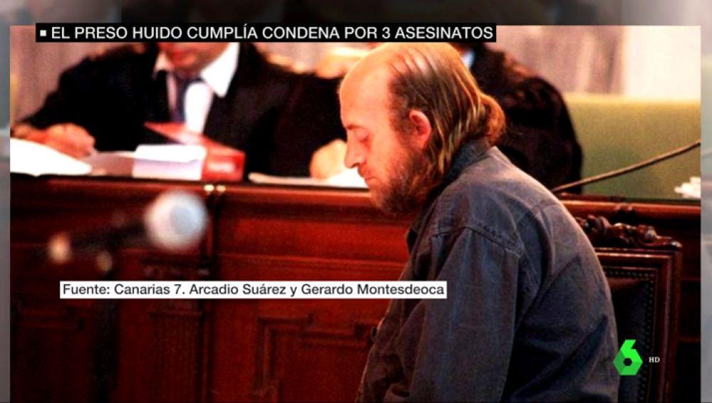 Fernando Iglesias, preso fugado en Ourense